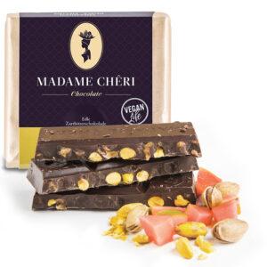 Schokolade Guave Pistazien