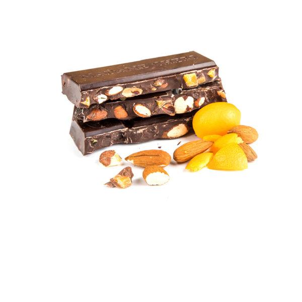 Schokolade Kumquat Mandel Vegan