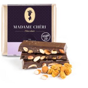 Schokolade Maulbeere Mandel