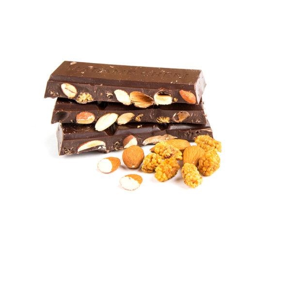 Schokolade Maulbeere Mandel Vegan