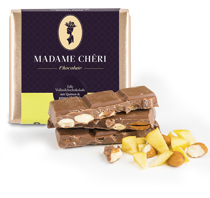 Schokolade Quitte Mandel
