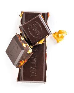 Zartbitter Schokoladenstücke