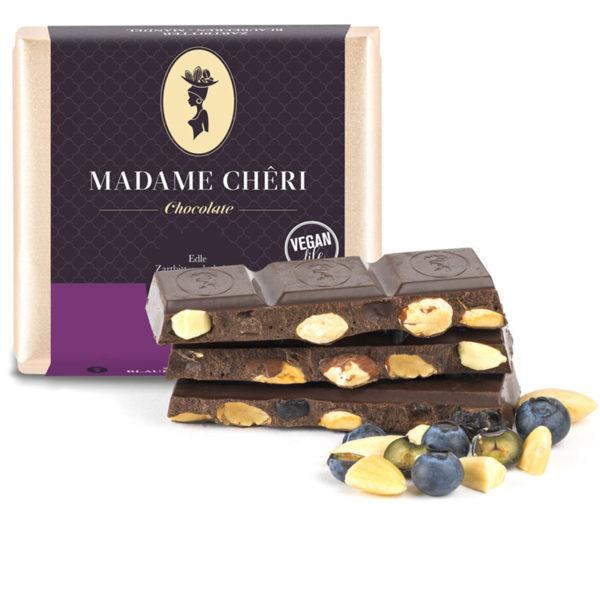Blaubeere Mandel Schokolade Zartbitter